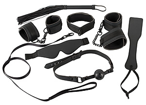 Bad Kitty Restraint Set, big bondage + BDSM + fetish set